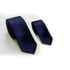 Szatén apa-fia nyakkendõ szett - Sötétkék