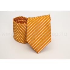 Rossini Prémium nyakkendõ - Napsárga-fehér csíkos