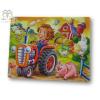Larsen maxi puzzle 15 db-os Állatok a tanyán