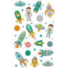 Maildor Cooky 3D matricák - Űrrakéták