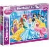 Clementoni Puzzle 104 db Disney Hercegnők Csillogó