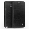 QIALINO Classic Samsung Galaxy Note 5 oldalra nyíló eredeti bőr flip tok, fekete