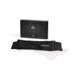 Bijoux Indiscrets Shhh fekete szatén - selyem Szemkötő erotikus játékokhoz