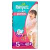 Pampers Active Pants pelenka lány 5 méret, junior 48 db