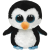 Ty. Plüss figura Beanie Boos 42 cm Waddles - pingvin