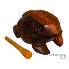 Makimpex Béka ütővel 20 cm-es játékhangszer