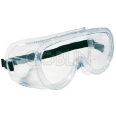 Lux Optical® Monolux védõszemüveg, gumipántos, víztiszta acetát, szellõzõlyukakkal, 10 db