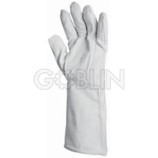 Euro Protection Fehér vászon 15 cm hosszú mandzsettával, 12 pár