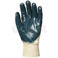 Euro Protection Nitril light Eco szellõzõ hátú, kék vastag nitril kesztyû gumis mandzsettával, 10 pár