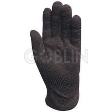 Euro Protection Fekete minipettyes pamutkesztyû, 12 pár