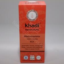 Khadi KHADI HAJFESTÉK POR ÉLÉNKVÖRÖS 100% hajfesték, színező