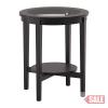 MALMSTA Dohányzóasztal, fekete-barna C SALE PARTNER