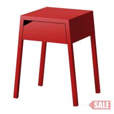 SELJE Éjjeliszekrény, piros C SALE PARTNER kerti bútor