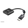 Akasa DisplayPort Adapter - > HDMI Buchse 4k - fekete AK-CBDP06-20BK