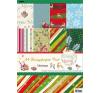 . Mintás kartonpapír csomag, A4, karácsony kreatív papír