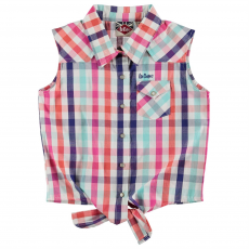 Lee Cooper Top felső Lee Cooper Tie Checked Shirts gye.