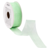 RIBBON szalag organza zöld 5mx25mm