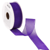 RIBBON szalag organza lila 5mx25mm