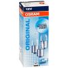 Osram 5007 R5W ORIGINAL 5W 12V BA15s jelzőizzó 10db/csomag