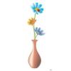 Váza virággal