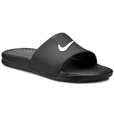 Nike Papucs NIKE - Benassi Shower Slide 819024 010 Black/White