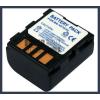 JVC GZ-MG67EX 7.4V 1200mAh utángyártott Lithium-Ion kamera/fényképezőgép akku/akkumulátor