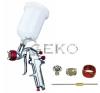 Geko Felültartályos festékszóró pisztoly 600ml 1.4 -es pneumatikus szerszám
