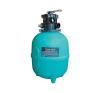 """GEMAS Premium medence homokszűrő tartály PE Top Ø615 15m3/h 1 1/2"""" medence kiegészítő"""