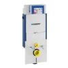 Geberit Kombifix fali WC elem, elölről működtethető falsík alatti UP320 öblítőtartállyal, kitöltőelemmel, hangcsillapító készlettel, ZWC védőcsővel