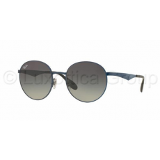 Ray-Ban RB3537 185/11 SHINY BLUE LIGHT GREY GRAD GREY napszemüveg