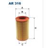 Filtron levegőszűrő AR316 1 db