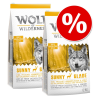 Wolf of Wilderness gazdaságos csomag 2 x 12 kg - Blue River - lazac