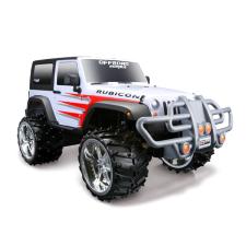 Maisto Off-Road RC Jeep Wrangler Rubicon távirányítású autó - fehér távirányítós modell