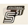 SIMSON UNIVERZÁLIS MATRICA DEKNIRE S51 ELEKTRONIC /EZÜST/