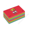 3M POSTIT Öntapadó jegyzettömb, 76x127 mm, 90 lap, 3M POSTIT Super Sticky, pipacs (LP6556SJP)