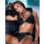 Anita Rosa Faia bikini felső, fekete, 44G