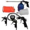 Geko 5 részes kompresszor pisztoly készlet tömlővel