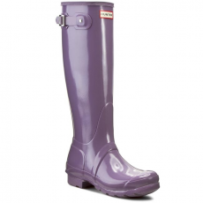 Hunter Gumicsizmák HUNTER - Womens Org Tall WFT1000RGL Thundercloud