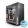 """Thermaltake Suppressor F51 Window Black Black,2x5,25"""",6x3,5"""",6x2,5"""",ATX,2xUSB2.0,2xUSB3.0,Audio,Táp nélkül,525x230x577mm,Ventillátor:20cm, 14cm,Window"""