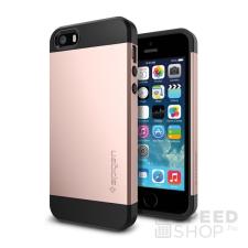 Spigen SGP Slim Armor Apple iPhone SE/5s/5 Rose Gold hátlap tok tok és táska