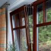 Trixie Fehér védőrács billenő ablakra a Trixie-től - Méret 1: az ablak oldalára való rögzítés (2 darab)