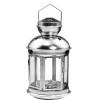 LIGHTHOUSE lámpás csillaggal ezüst 20cm