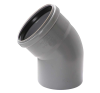 Pipelife Hungária Műanyagipari Kft. PVC 110/45°-os tokos lefolyócső idom hűtés, fűtés szerelvény