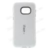 Iface mûanyag védõ tok / hátlap - szilikon betétes - FEHÉR - SAMSUNG SM-G928 Galaxy S6. Edge +