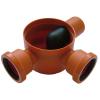 Padlószifon, 3 ágú, 80mm (balos), tokozott, gumigyűrűvel PP (STY-653-B)