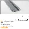 Redőny 2061 Végzáró Profil 37x7mm 2,6m Alumínium