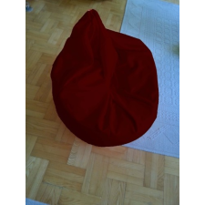 Bordó Tini szövet babzsákfotel bútor