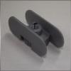Szintezőláb korpusz 28mm-es laphoz Ezüst