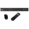 DigiCam DPT-4100MA PREMIUM 4+2 csatornás rögzítő 4db HD-TVI/analóg és 2db 2Mpixeles IP kamera kezelése, VGA, HDMI, audio kimenetek, 2db USB, gyári DDNS, egér, távirányító