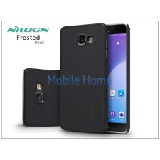 Nillkin Samsung A710F Galaxy A7 (2016) hátlap képernyővédő fóliával - Nillkin Frosted Shield - fekete tok és táska